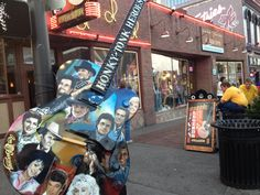 Cool guitar in downtown Nashville.