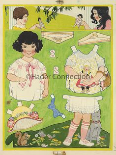 Hader paper doll_Good Housekeeping magazine, June 1924