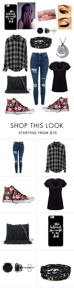 """""""Untitled #205"""" by palmtree2539 ❤ liked on Polyvore featuring Topshop, Converse, James Perse, Anna Sui, SONOMA Goods for Life, BERRICLE and Platadepalo"""