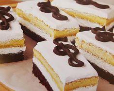Hasznos cikkek és receptek: Muzsikus szelet Vanilla Cake, Nutella, Food To Make, Cheesecake, Cookies, Recipes, Kuchen, Crack Crackers, Cheesecakes