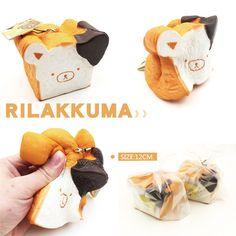 Squishy Rilakkuma 10cm Jumbo Bear Toast Phone Strap Popular Brands Kawaii Squishies Phone Charm/Bag Charm Pendant-in Mobile Phone Straps from Phones & Telecommunications on Aliexpress.com | Alibaba Group