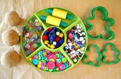 Gingerbread Play Dough Invitation to Play