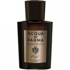 Colonia Intensa Oud by Acqua di Parma - 2012 - A long lasting, heavy projecting, leathery, spicy oud that begins with a citrus blast—more suitable for dress and evening. Can be worn year round if sprayed lightly  during spring and summer. Compliment getter!