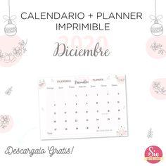 Calendario + Planner Imprimible Words, Frases, Printable, Calendar, Messages, Horse