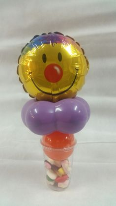 traktatiebeker met smiley ballon