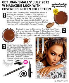 Joan Smalls For W Magazine - http://www.beautysets.com/sets/7503 - Looks