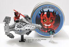 Star Wars Lego SDCC2012 Darth Maul and Sith Infiltrator [mini]