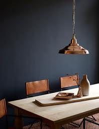 Koper staat ook erg mooi in combinatie met donkerblauw.