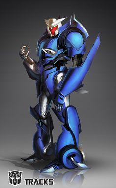 Transformers Prime: Tracks by dou-hong.deviantart.com