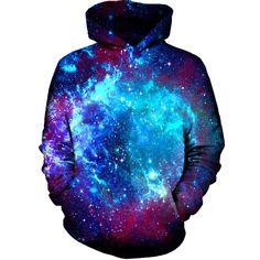 Blue Galaxy Hoodie