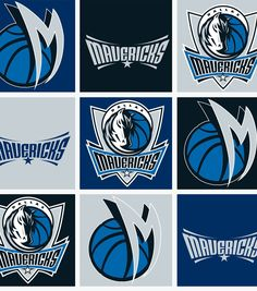 Dallas Mavericks NBA  Fleece Fabric