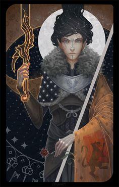 Queen Of Swords by AlyonaMk