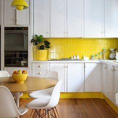 Tudo para você colocar mais cor na cozinha