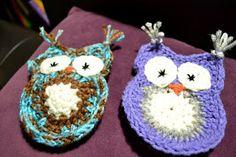 Owl Applique #crochet pattern - free!