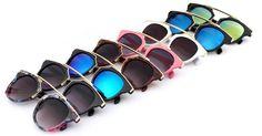 BOUTIQUE Fashion Plastic Wrap Metal Cat Eye Glasses Vintage Sunglasses Women Men Brand Designer Coating sunglass gafas Who like it ? #shop #beauty #Woman's fashion #Products #Classes