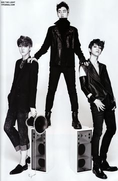 Exo-K | For L'OFFICIEL HOMMES Korea Magazine, August 2012 Issue Baekhyun can u not