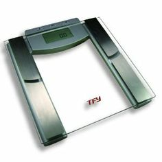 TFY High-Capacity Scale with Body Composition Analyzer - Measures Body Fat, Hydration, Muscle and Bone Mass - Five Athletic Modes - 12 Personal Profiles (440 lb.) --- http://www.pinterest.com.yolo.bz/75p