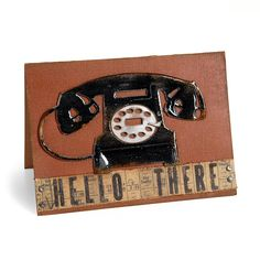 Hello There Telephone Card | Sizzix.com