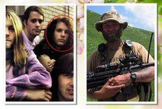 Jason Everman, chitarrista dei Nirvana e oggi Berretto Verde delle Forze Speciali USA.