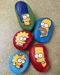 41 Easy Diy Painted Rock Design Ideas Easy Diy Painted Rock Design IdeasDo it yourself projects are becoming much more attractive as home-owner Rock Painting Patterns, Rock Painting Ideas Easy, Rock Painting Designs, Paint Designs, Pebble Painting, Pebble Art, Stone Painting, Diy Painting, Painted Rocks Craft