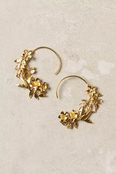 Agrippina Hoops via Anthropologie