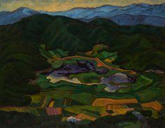 雙連埤1997 陳敏澤 油畫 91x116.5x5.5cm x1p