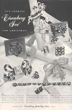 1941 Eisenberg jewelry ad