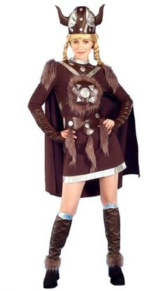 halloween costume viking women | Adult Deluxe Helga Viking Woman Costume - Adult Std. Viking  sc 1 st  Pinterest & 28 best Viking Costumes images on Pinterest | Viking costume Boots ...
