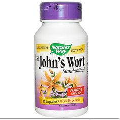 Nature's Way St. John's Wort, 90 Capsules..