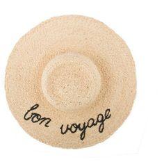 Bon Voyage Straw Hat