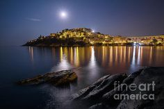 Full Moon Magic I by Elias Pentikis Next Full Moon, Moon Magic, Winter Park, Great Shots, Great Pictures, Fine Art America, Greece, Poster Prints, Canvas