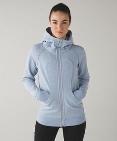 Our classic hoodie has ribbed panels for freedom of movement and a long length for bum coverage.