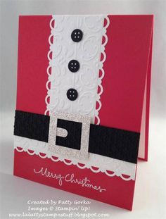 Santa Suit by LaLatty - Cards and Paper Crafts at Splitcoaststampers
