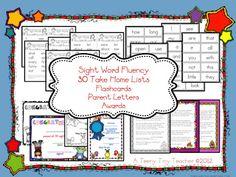 A Teeny Tiny Teacher: Sight Word Fluency