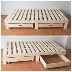 DIY platform bed ideasDIY platform bed ideas platformbedsOver 25 creative DIY bed projects with free plans - I creative ideas (no title) DIY platform bed ideas DIY platform bed ideas platform + creative Diy Pallet Bed, Pallet Sofa, Diy Pallet Furniture, Diy Pallet Projects, Pallet Diy Easy, Lawn Furniture, Furniture Stores, Cheap Furniture, Discount Furniture