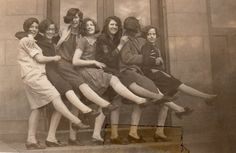 Flappers of the 20s