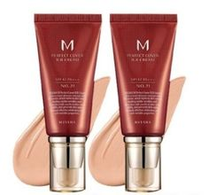 Face Skin Care Missha M Perfect Cover Bb Cream SPF 42 Pa Plus  21 Light Beige 11 * Click image to review more details.