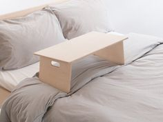 Fold Away Lap Desk / Laptop Stand – Tablet Reading Writing Drafting – Bed / Sofa / Couch Workspace – Customise Design + Materials - DIY Desk Ideen Laptop Table For Bed, Laptop Stand For Bed, Bed Stand, Laptop Tray, Minimal Desk, Laptop Screen Repair, Laptop Storage, Desks For Small Spaces, Sofa Couch Bed