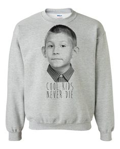 Unisex sweat shirt  Cool Kids Neved Die malcolm par NarvaloClothing, $29.99