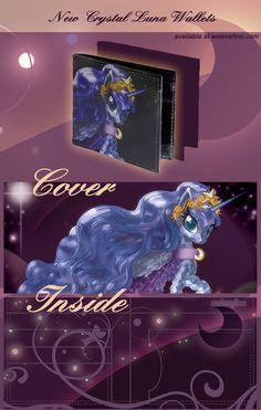 MLP FIM: Crystal Luna Wallet at welovefine by hinoraito.deviantart.com on @deviantART