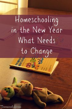 Homeschooling in the New Year - What Needs to Change