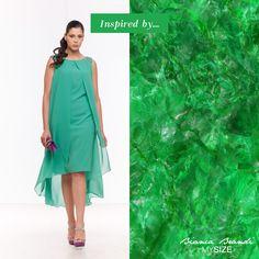 #InspiredBy... #Verde acquamarina il #colore che naturalmente si ispira al mare! Perfetto da indossare nelle serate speciali per sentirsi una vera sirena :-) #fashion #fashiocurvy #curvy #plussize #mysize #curve #women #woman #donna #donne #femminilita #look #outfit #moda #style #mysize #elegance #summer