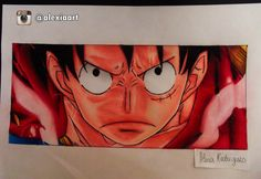 Monkey D. Luffy - One Piece by AlexiaRodrigues on DeviantArt