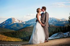 Mountain Top Views at Alpenglow Stube & Timber Ridge at Keystone Resort, CO www.keystoneweddings.com | Photo By: Van Buren Photography @Katie Van Buren