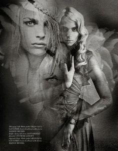Andrej Pejic | Nicolas Guerin | Vestal Magazine July 2012 |'Andrej' - 3 Sensual Fashion Editorials | Art Exhibits - Anne of Carversville Women's News