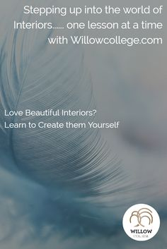 Do you love color learn how to create divine interiors yourself? Step over to willowcollege.com where you can learn interior design online. Simple 3 minute lessons. Visit WillowCollege.com today #learninteriordesign #interiordesign #onlinelearning #colorconsultant #onlineinteriordesigncourse #color #createinteriors #lovehomedesign #homedesign #creativecareer #willowcollege #studyonline #affordableonlineinteriordesigncourse