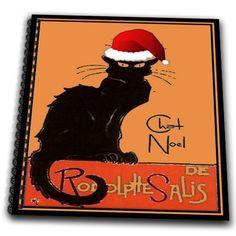 3dRose db_47077_1 Le Chat Noel-Advertising, Art Nouveau, Black Cat, Cat, Cats, Chat Noir, Le Chat-Drawing Book, 8 by 8-Inch 3dRose http://www.amazon.com/dp/B00B9QZC20/ref=cm_sw_r_pi_dp_TSTZvb1JSXX7Z