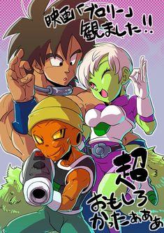 Ayyyyyy it's the trio of Broly, Cheelai and Lemo Dragon Ball Z, Dragon Z, Akira, Green Lantern Movie, Goku Manga, Broly Movie, Super Anime, Anime Merchandise, Manga Games
