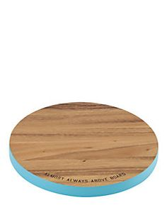 wooden round cutting board | kate spade new york