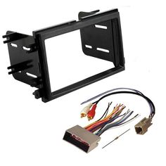 subaru forester impreza wrx double din radio stereo installation Stereo Wiring Harness Color Codes at Stereo Mounting Kit And Wiring Harness